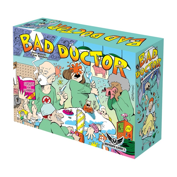 Win a Copy of Bad Doctor Game from Mayday Games