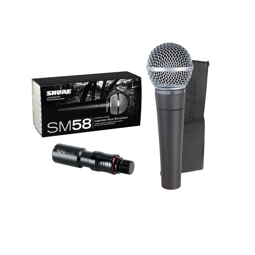 Win a Legendary SHURE SM58 Microphone