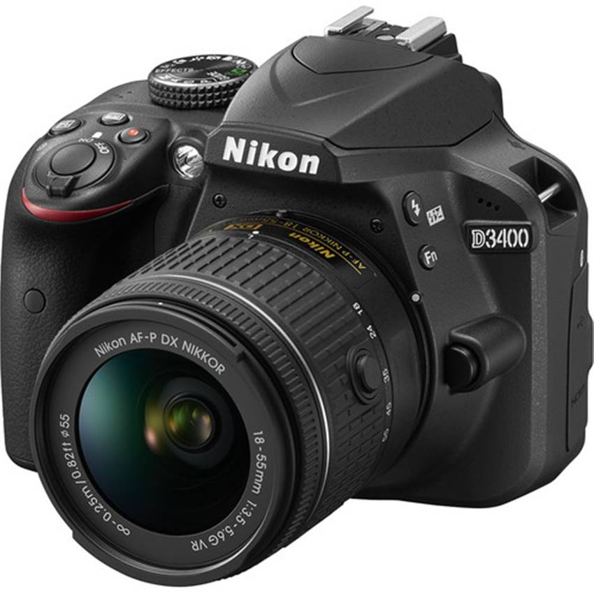 Win a Nikon D3400 from Bedford Camera & Video