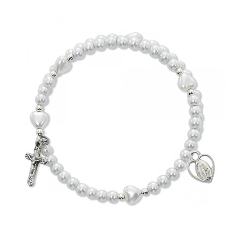 Win a Sterling Silver White Pearl Wrap Necklace