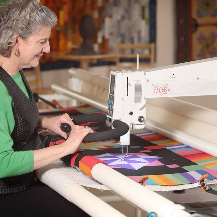 Win a APQS Millie Longarm Quilting Machine