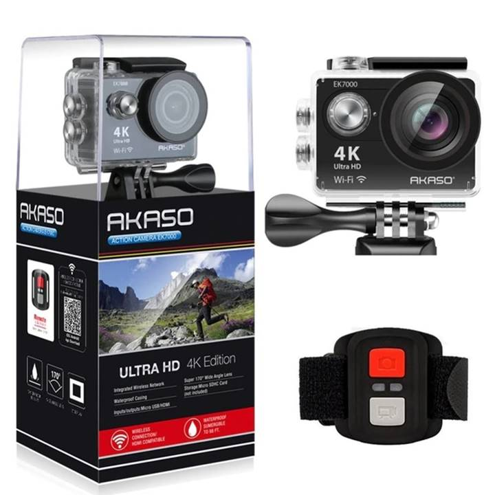 Win a AKASO Action Camera