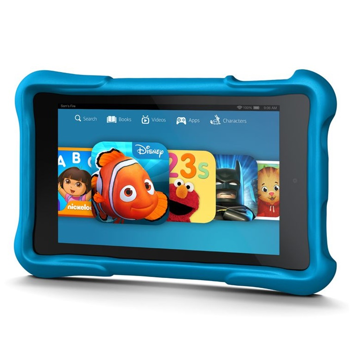 Win a Kid's Kindle Fire with Disney and Nickelodeon Content