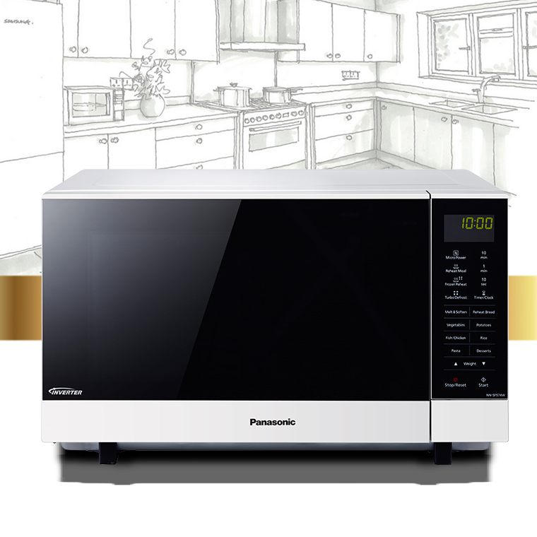 SHESAID presents you a chance to win a Panasonic Microwave Oven!