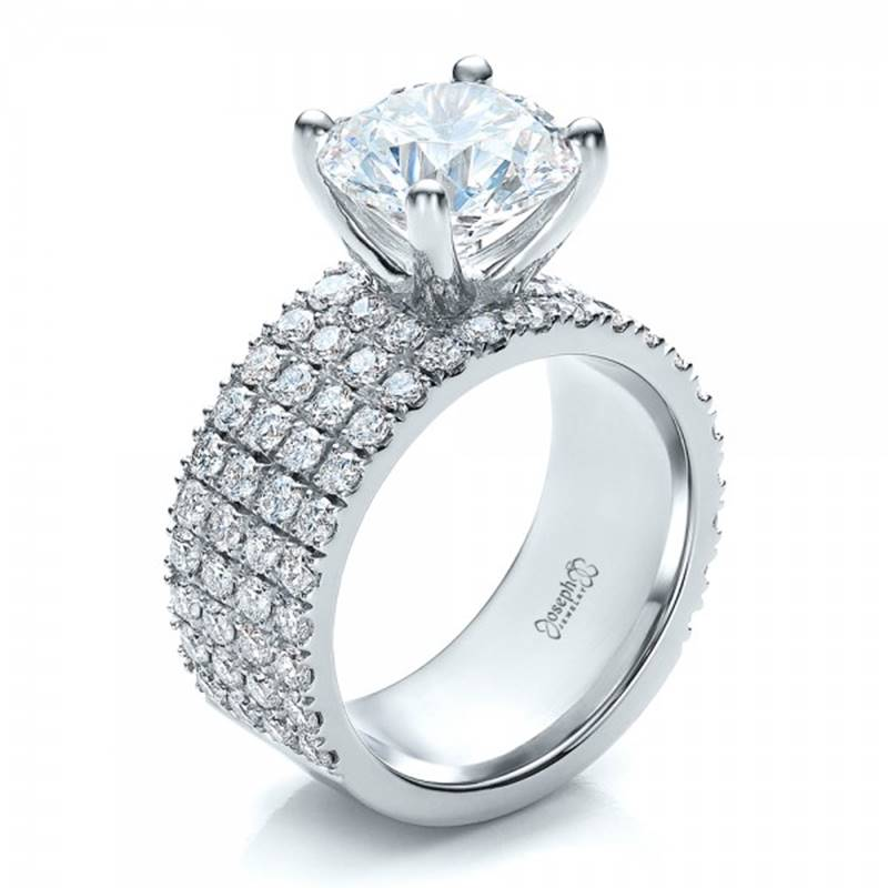 Win a custom Diamond Engagement Ring & trip to Miami