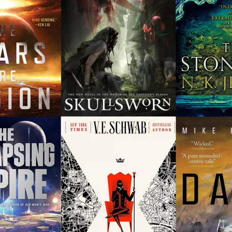 Win a Collection of the Summer's Best Sci-fi & Fantasy Novels