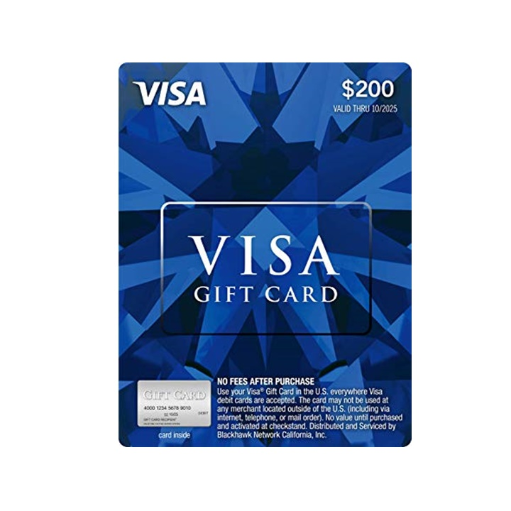 Win a $200 Visa Gift Card