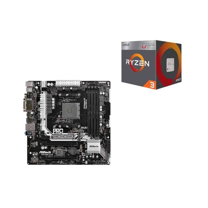 Win a Ryzen 5 and ASRock PRO4 Motherboard Combo