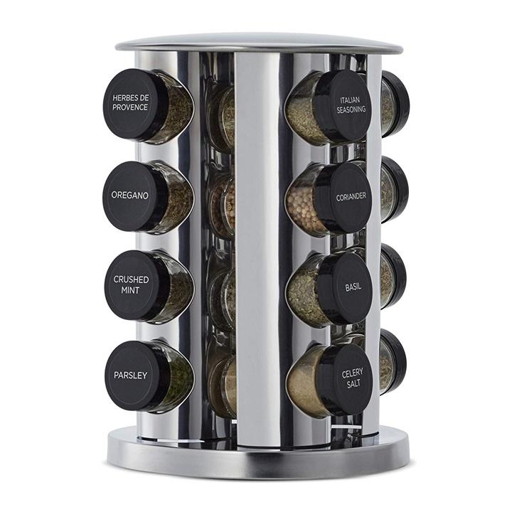 Win a Kamenstein 16 Jar Revolving Tower Rack
