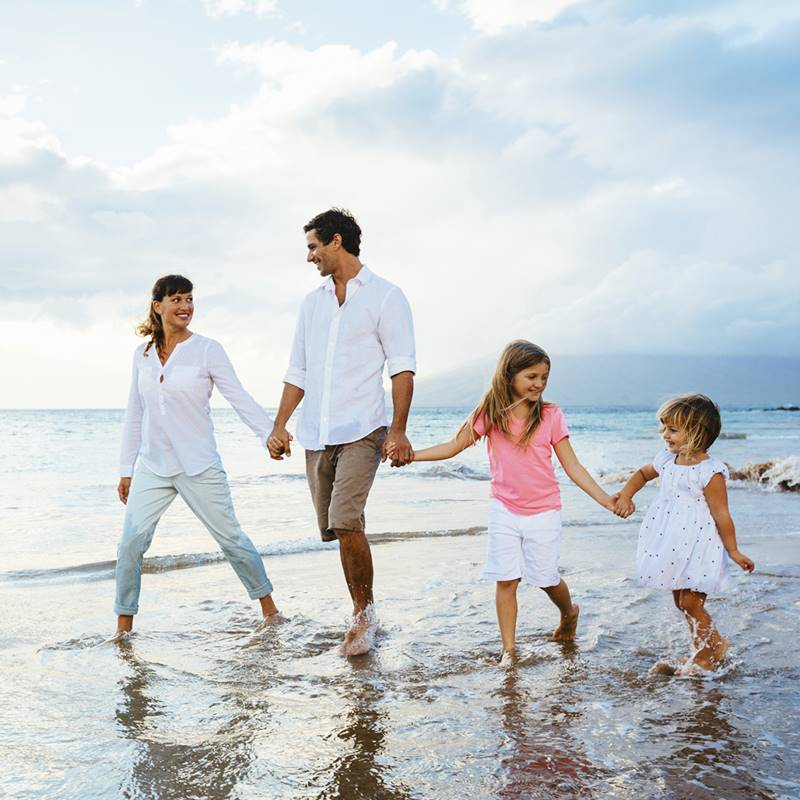 Win a family vacation! Gift Cards