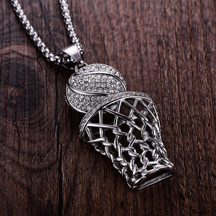 Win a 1 of 6 Crystal Basketball Necklaces