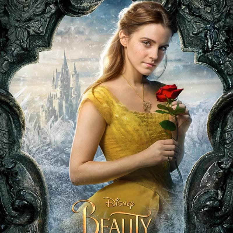 Win a Beauty and the Beast Enchanted Rose Display Case Cabinet