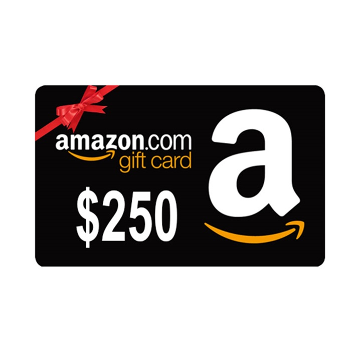 Win a $250 Amazon Gift Card
