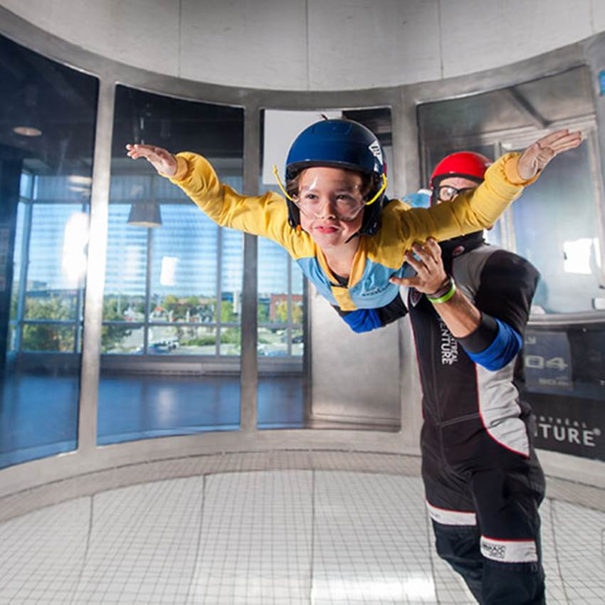 Win A Double iFLY Intro Pass To Experience Indoor Skydiving At iFLY