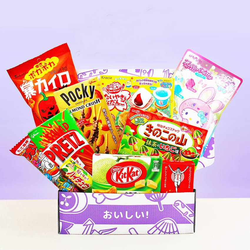 Win Japan Candy Box