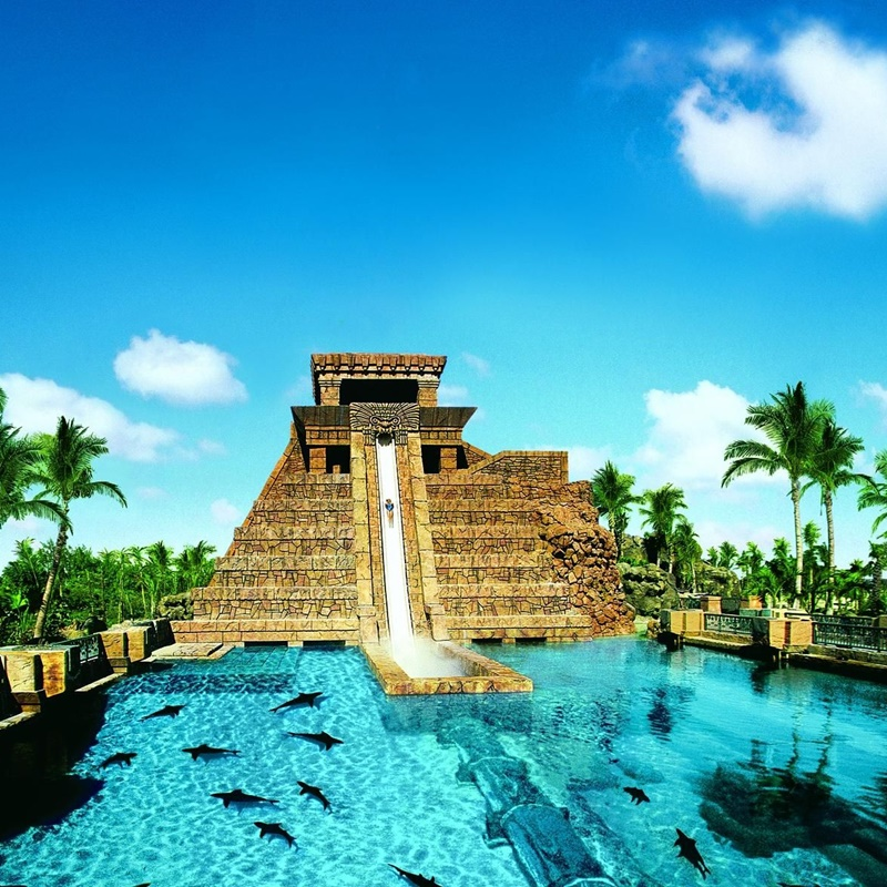 Win a trip to Atlantis Resort in the Bahamas.